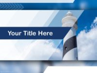 Free Light House PPT Template