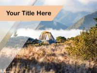 Free Mountain Camping PPT Template