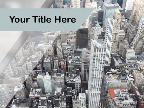 Free Newyork City PPT Template