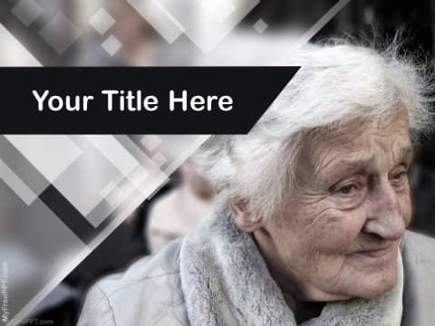 Free Old Age PPT Template