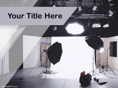 Free Photo Studio PPT Template