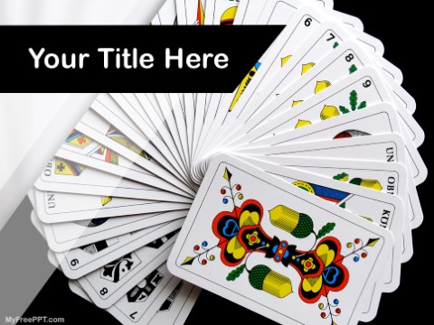 Free Playing Cards PPT Template