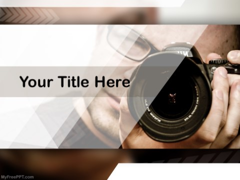 Free Professional Photography PPT Template