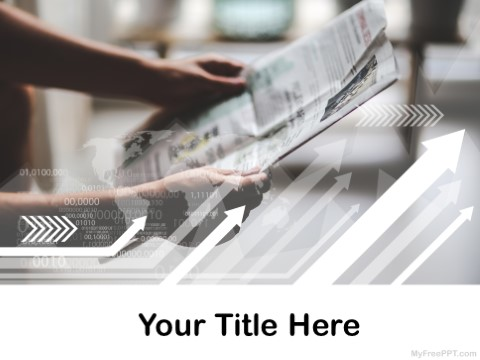 Free Reading Newspaper PPT Template