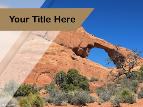 Free Rock Formation PPT Template