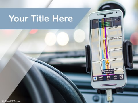 Free Smartphone Navigation Technology Ppt