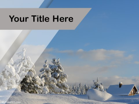 Free Snow PPT Template