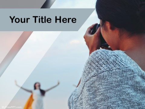 Free Stock Photography PPT Template