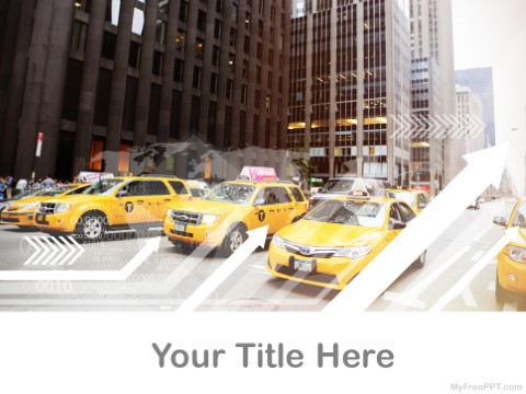 Free Taxi Service PPT Template