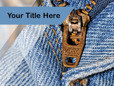 Free Textile PPT Template