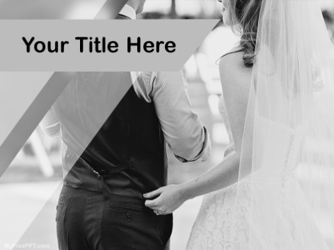 Free The Wedding Couple PPT Template