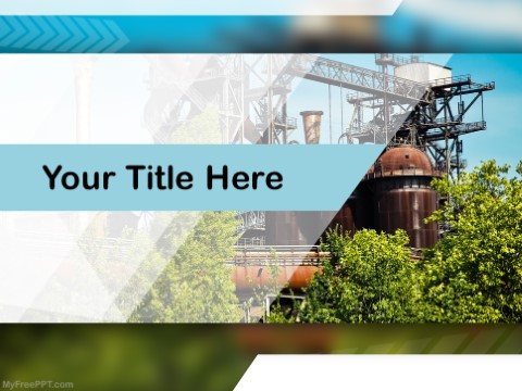 Free Traditional Factory PPT Template