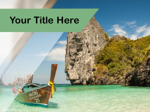 Free Tropical Island PPT Template