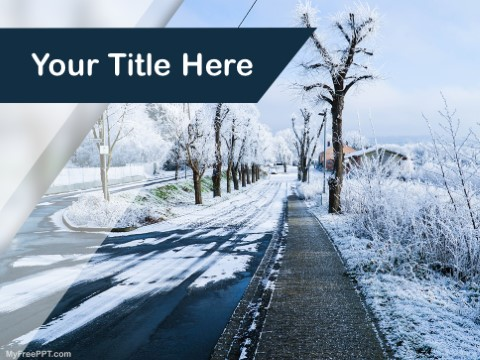 Free Winter Season PPT Template