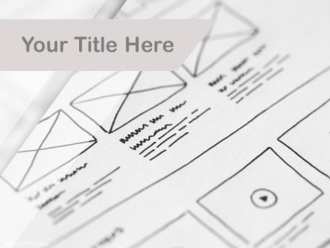 Free Wireframing PPT Template