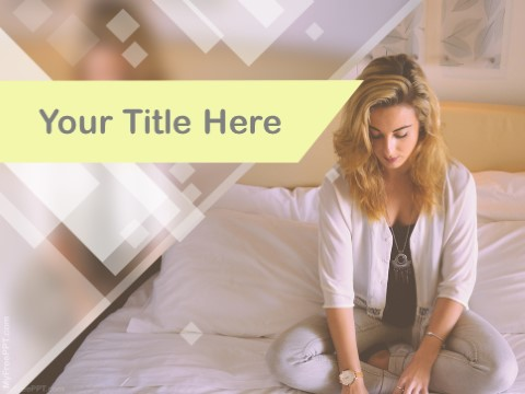 Free Working From Hotel Room PPT Template